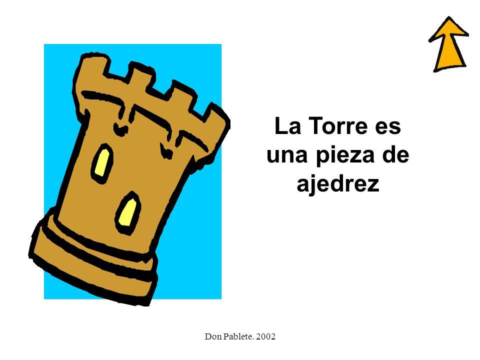 Don Pablete. 2002 torero barco llavero perro torre