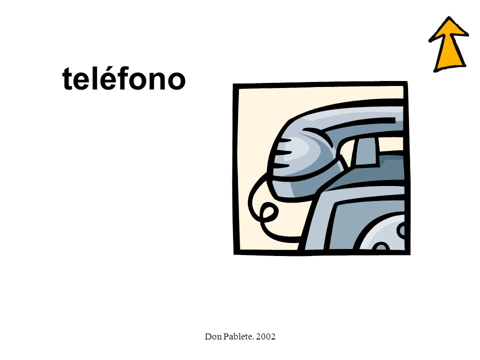 Don Pablete. 2002 teléfono familia foca tele flauta