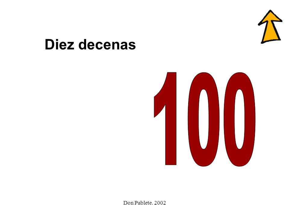 Don Pablete. 2002 cacerola cero hocico circo cien