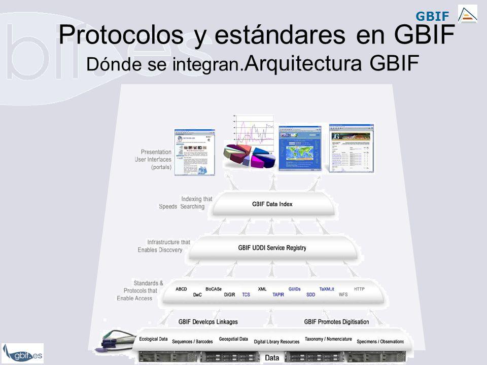 GBIF Estándares de datos en GBIF Perfiles de datos utilizados en GBIF: Darwin CoreDarwin Core 1.2 Darwin Core 1.4 MaNIS (original) MaNIS 1.21 Darwin Core 1.2 plus OBIS extension ABCDABCD 1.20 ABCD 1.48 ABCD 2.05 ABCD 2.06 Silvia Lusa Bernal -lusa@gbif.es Provisión de datos colombianos al GBIF en el marco del SIB Colombia Mayo 27-29 de 2008, Pontifica Universidad Javeriana, Bogotá, Colombia.