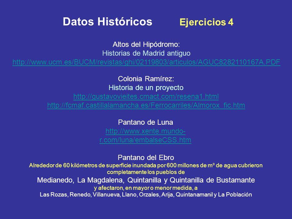 Altos del Hipódromo: Historias de Madrid antiguo http://www.ucm.es/BUCM/revistas/ghi/02119803/articulos/AGUC8282110167A.PDF Colonia Ramírez: Historia