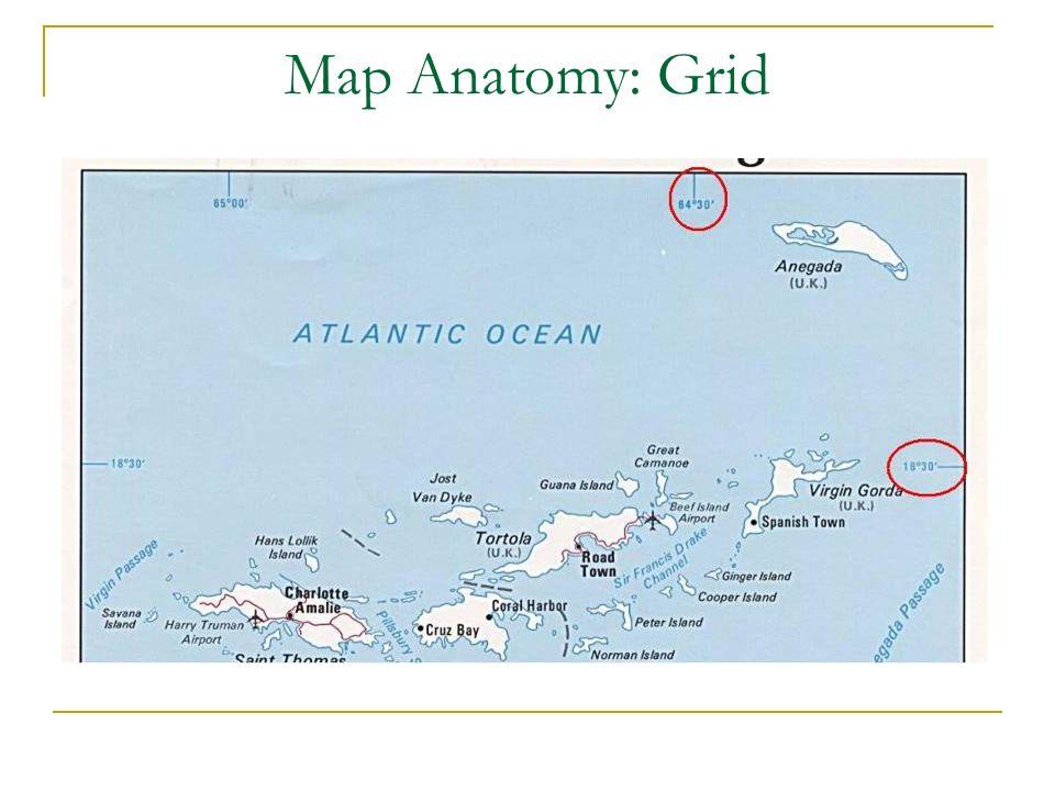 Enseña donde se encuentran los meridianos y los paralelos en el mapa.