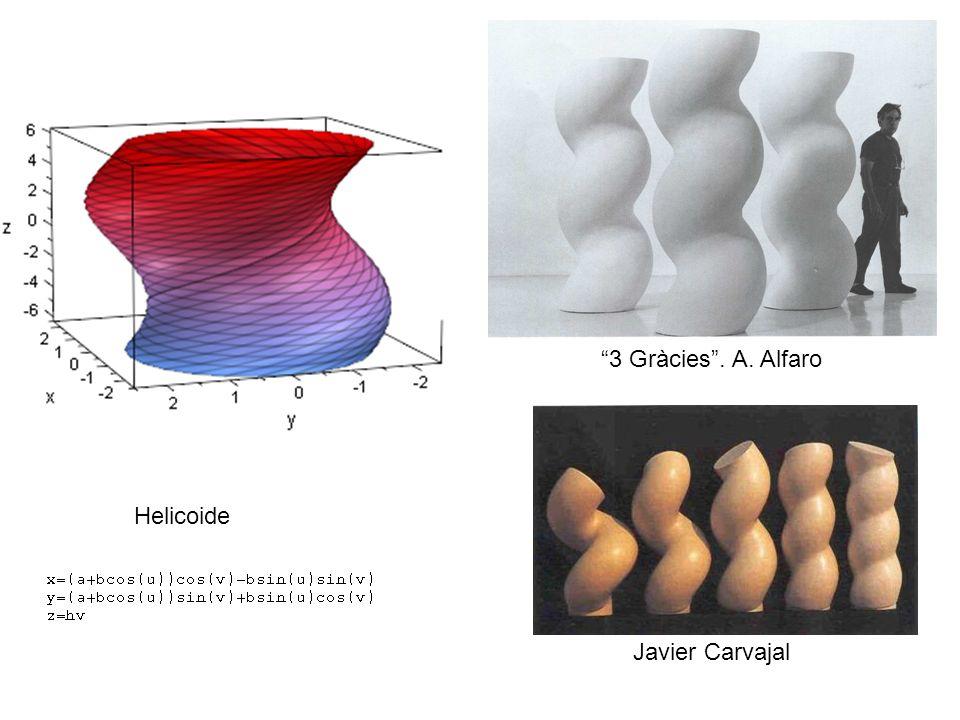 Helicoide 3 Gràcies. A. Alfaro Javier Carvajal