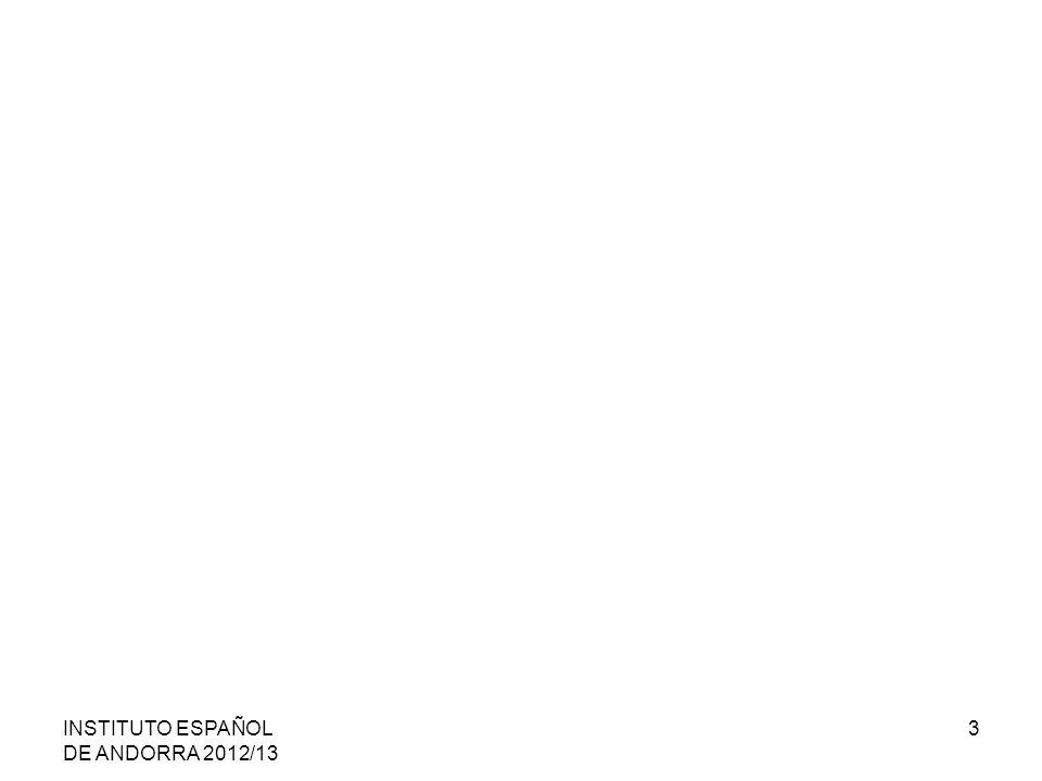 INSTITUTO ESPAÑOL DE ANDORRA 2012/13 3