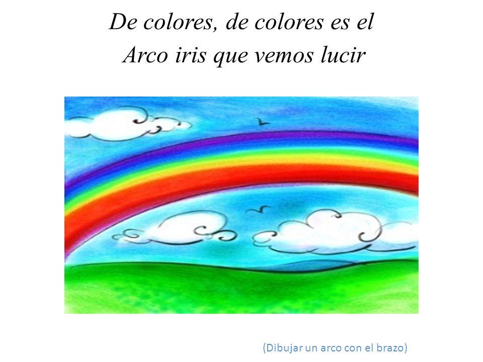 Y por eso los grandes amores De muchos colores me gustan a mí.