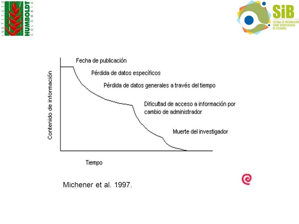 Michener et al. 1997.