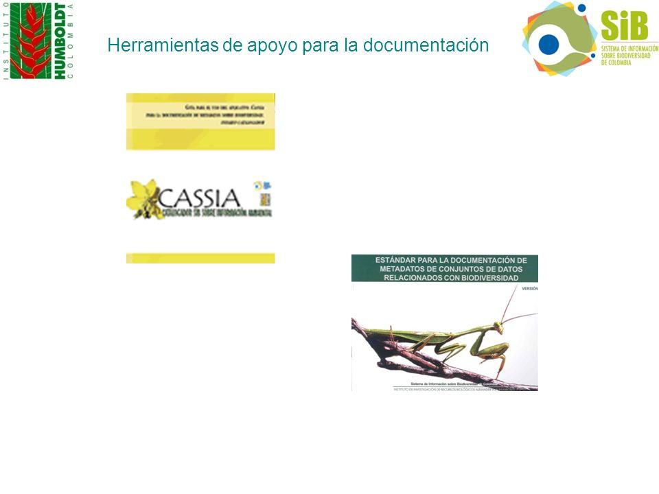 Herramientas de apoyo para la documentación