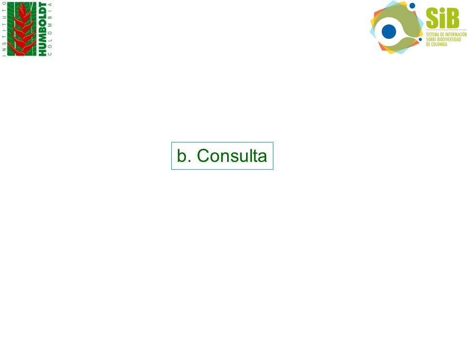 b. Consulta