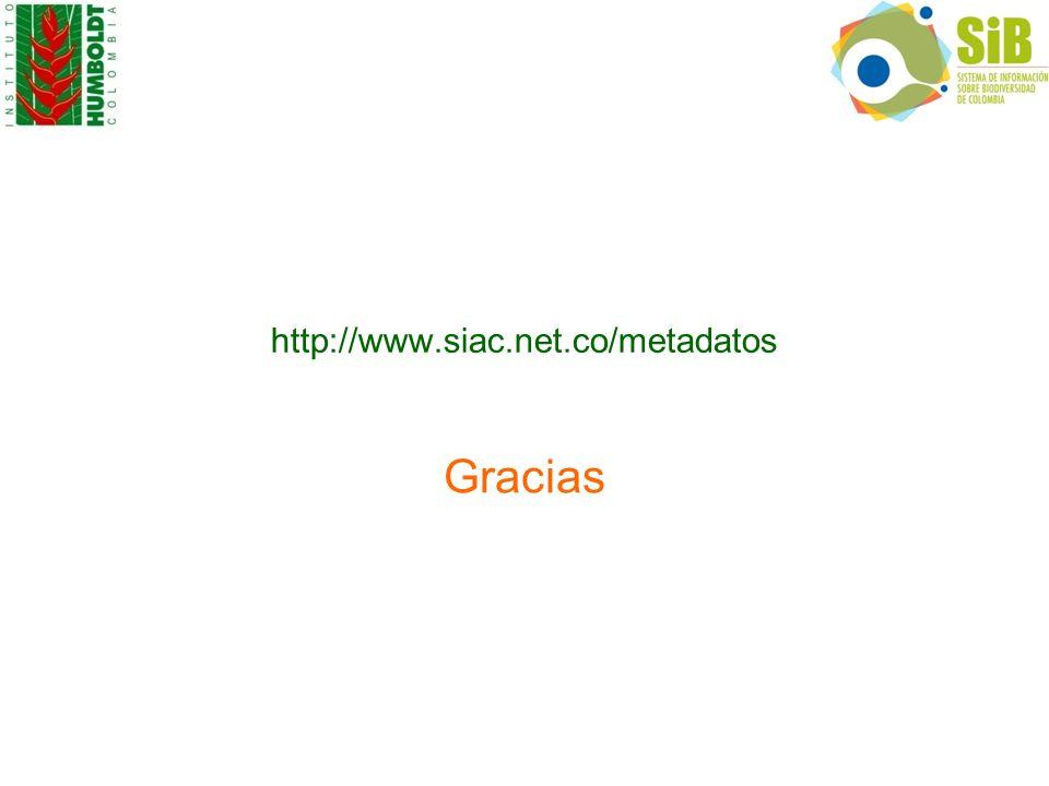 Gracias http://www.siac.net.co/metadatos