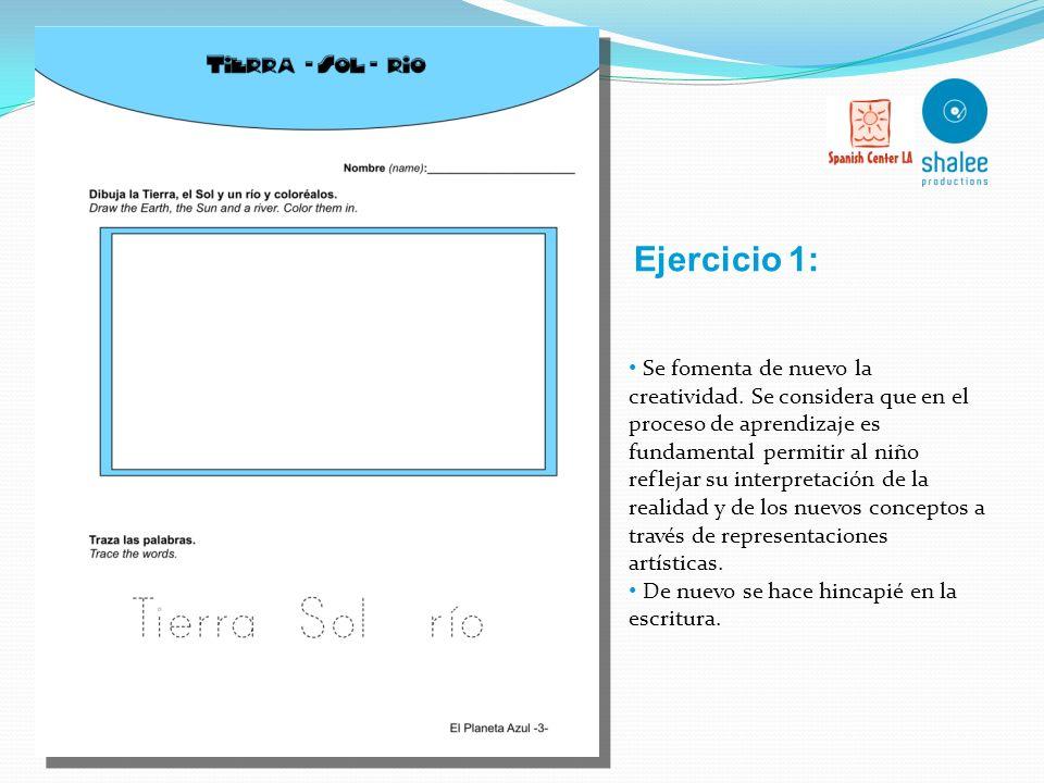 Vocabulario básico: Tierra - Sol Agua - Rio Pajaritos - Monitos- Pececitos Calor FOCO EN ACTIVIDADES Vocabulario: