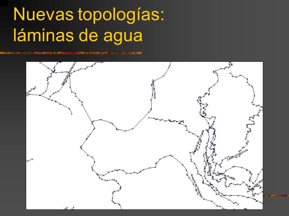 Nuevas topologías: láminas de agua