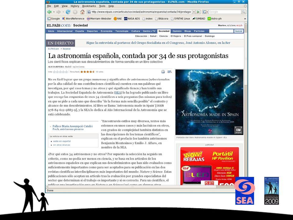Presentación del libro en el Auditorio de Valencia, coincidiendo uno de los conciertos Cuadros Astronómicos de una Exposición (julio 2009, organizado por la UV, Vicent Martínez).