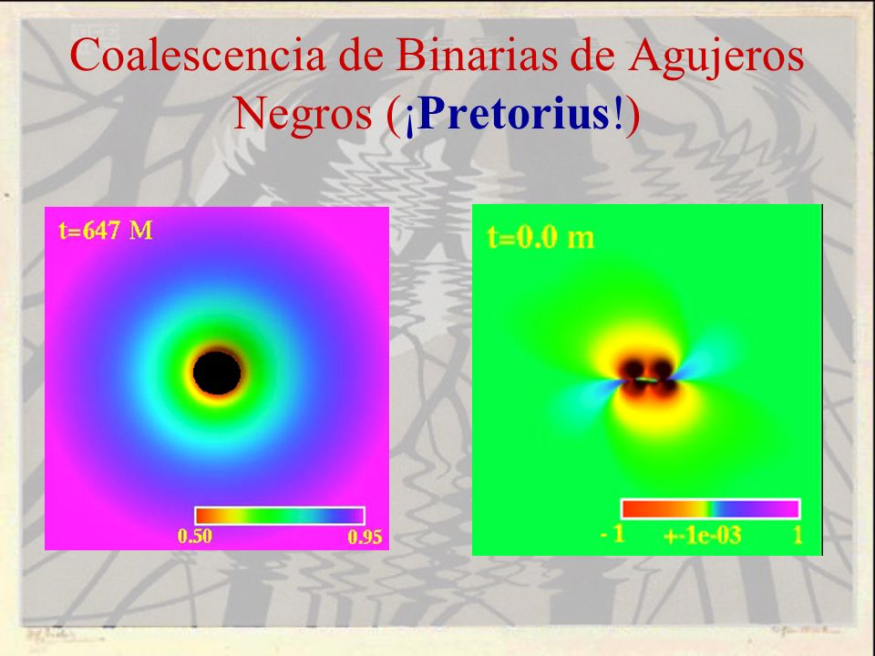 Coalescencia de Binarias de Agujeros Negros (¡Pretorius!)