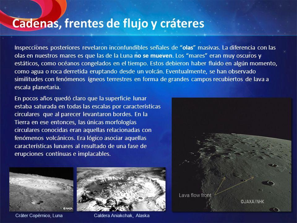 Esta suposición duró hasta la primera mitad del siglo 20 y sólo analizando las observaciones de las misiones Luna y Apolo, fue cuando se volvió evidente que el vulcanismo, al menos el conocido en la Tierra, jugó un rol menor en dar forma a la superficie Lunar.