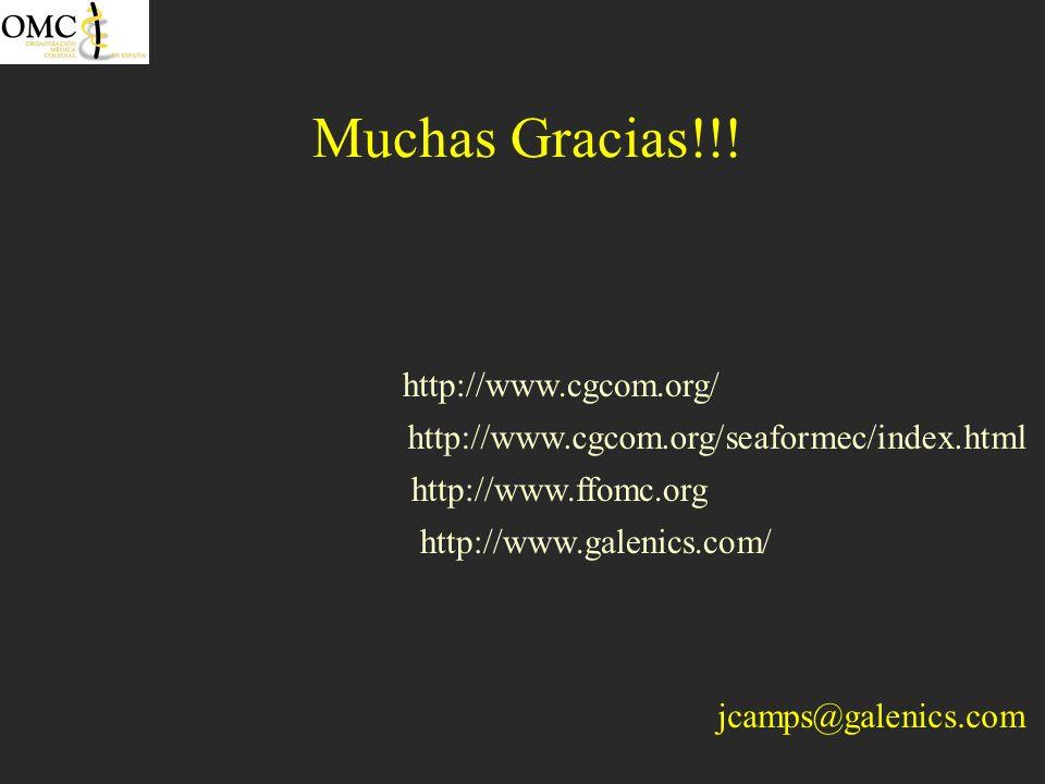 http://www.ffomc.org http://www.cgcom.org/ http://www.galenics.com/ http://www.cgcom.org/seaformec/index.html Muchas Gracias!!! jcamps@galenics.com