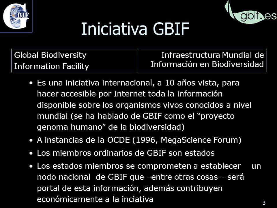 34 Los usuarios de la información sobre biodiversidad se encuentran con el escollo de que la misma especie se puede citar con distintos nombres, o que un mismo nombre puede hacer referencia a especies (o conceptos de especie) diferentes 3.