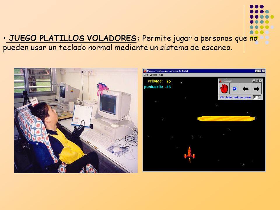 CONTROLADOR DE JUEGOS: Controla juegos a través de un teclado que funciona por escaneo automático