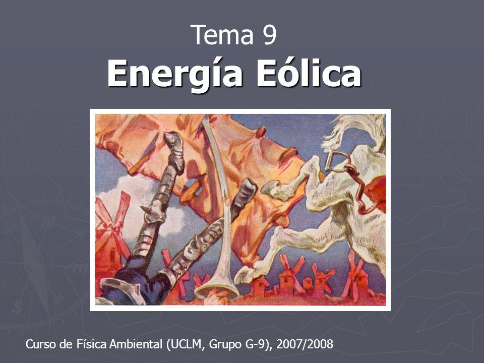 1.Introducción 1.1.Ventajas de la energía eólica 1.2.