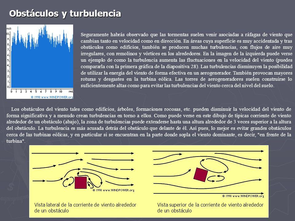 Seguramente habrás observado que las tormentas suelen venir asociadas a ráfagas de viento que cambian tanto en velocidad como en dirección. En áreas c