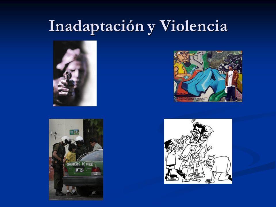 Inadaptación y Violencia