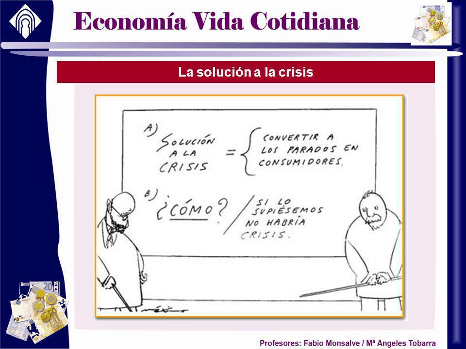 La solución a la crisis
