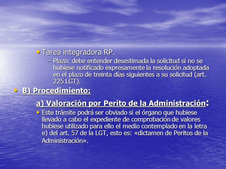 Tarea integradora RP. Tarea integradora RP. –Plazo: debe entender desestimada la solicitud si no se hubiese notificado expresamente la resolución adop