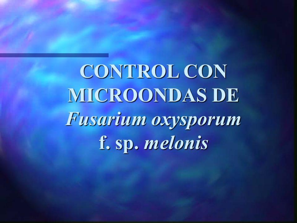 VIABILIDAD DEL INÓCULO DE Fusarium oxysporum f.sp.