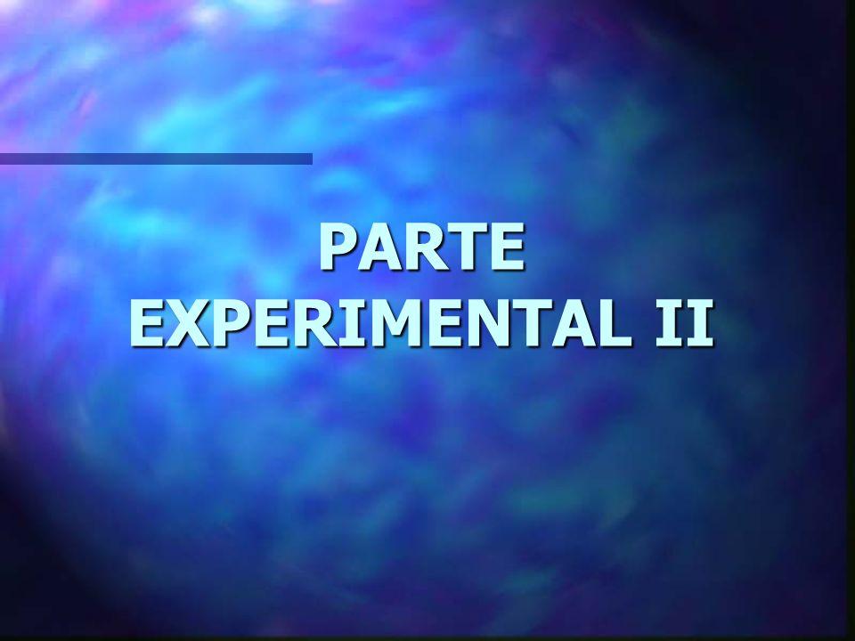 CONCLUSIONES PARTE EXPERIMENTAL I 3.- En los tratamientos de 1 y 3 minutos a media y alta potencia, así como en los de 6, 9 y 12 minutos (baja, media