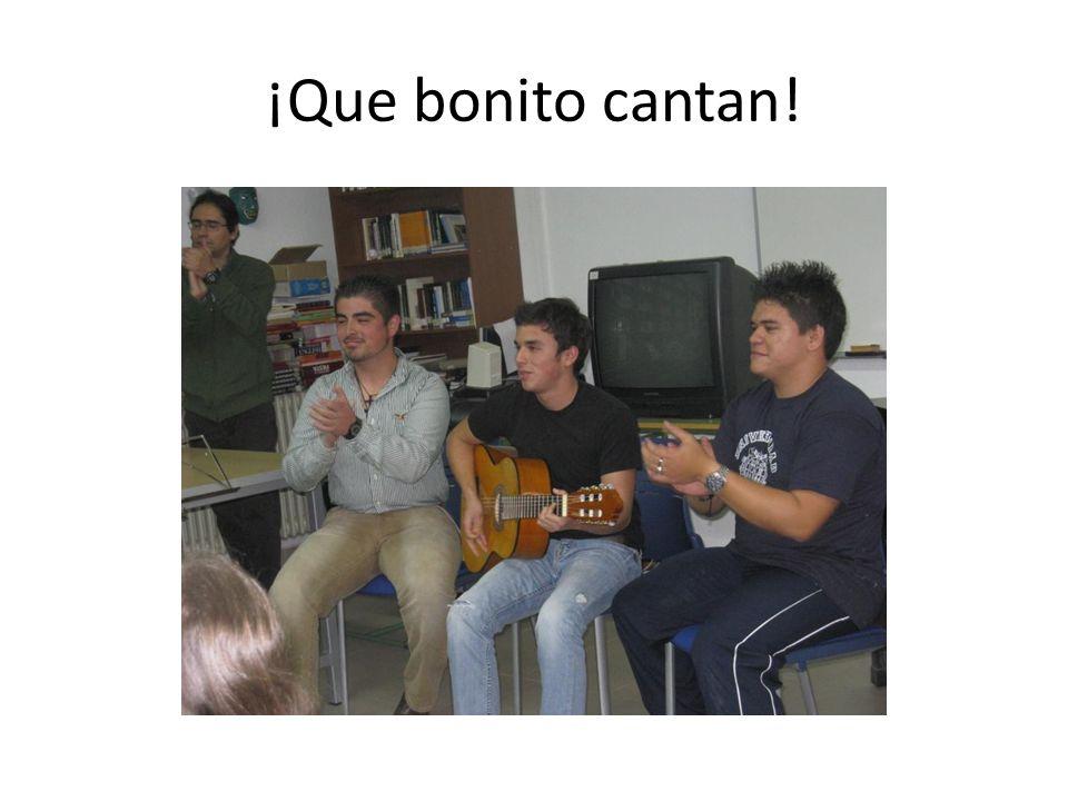 ¡Que bonito cantan!
