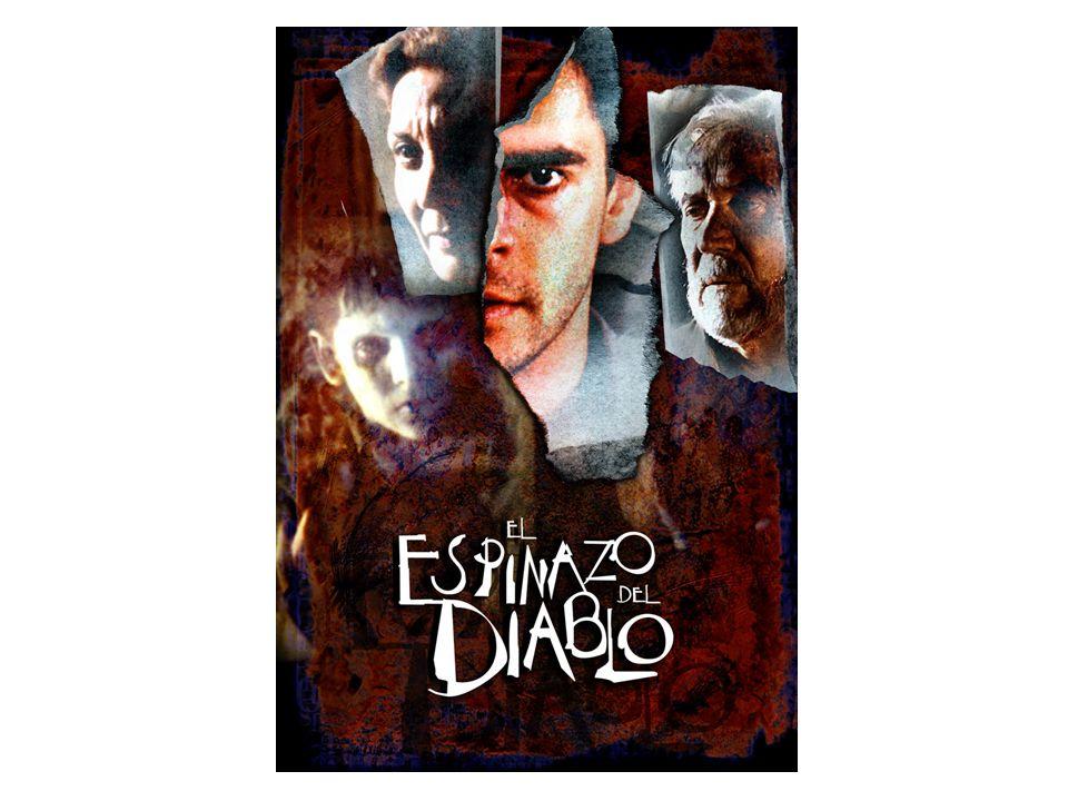 El espinazo del diablo de Guillermo del Toro (2001) Grupo de huérfanos republicanos siguen las directrices del fantasma (SANTI), asesinado por JACINTO (trabaja para franquistas): el pasado atormenta el presente Nuevo fantasma: Dr.