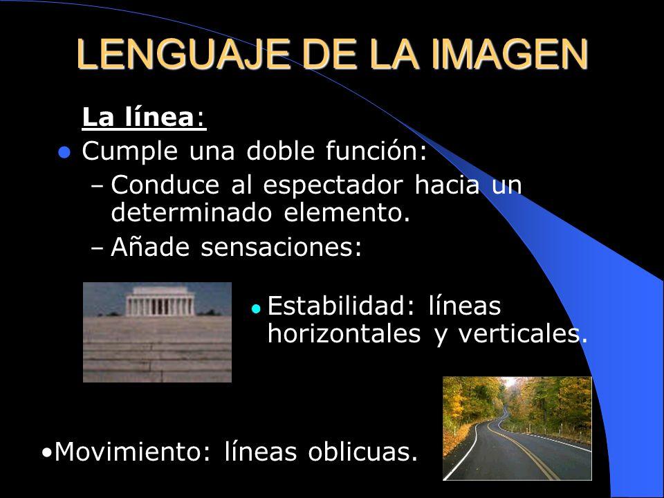 El Punto: Lugar/es dónde se dirige la atención del observador. No tiene por qué coincidir con el centro geométrico. Si sólo existe uno la imagen será