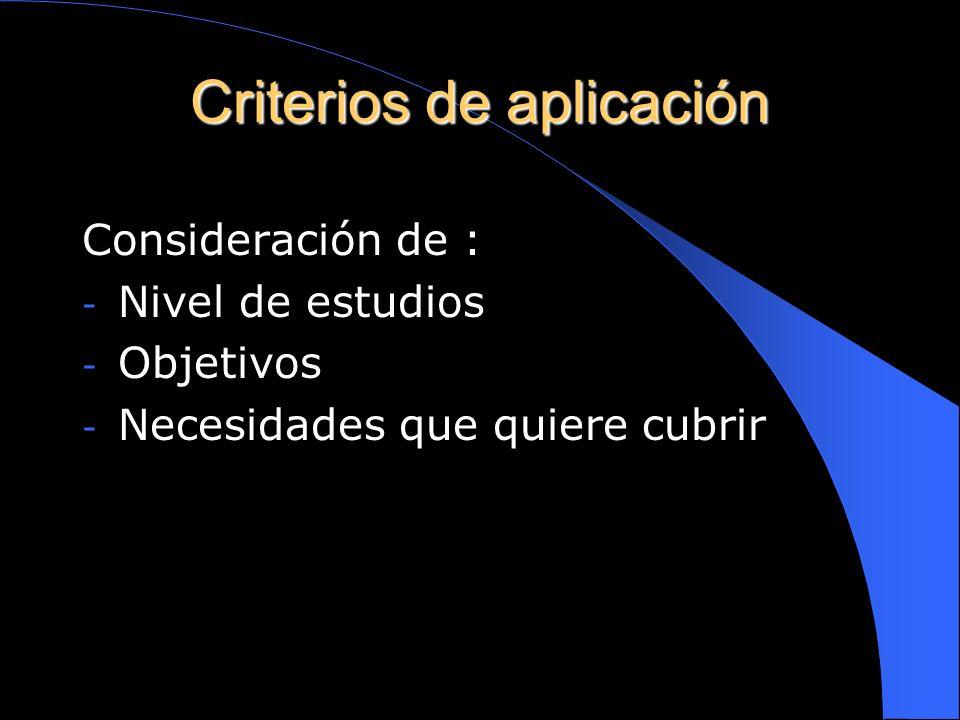 APLICACIÓN DIDÁCTICA Fase ilustrativa: el docente se ayuda de algunos elementos audiovisuales. Fase auxiliar: el alumno entra en contacto directo con