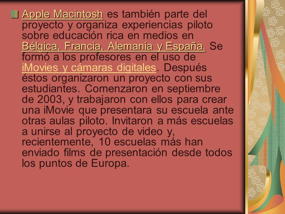 Apple Macintosh Bélgica, Francia, Alemania y España.