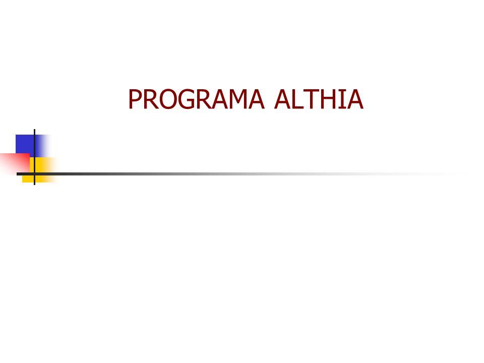 PROGRAMA ALTHIA