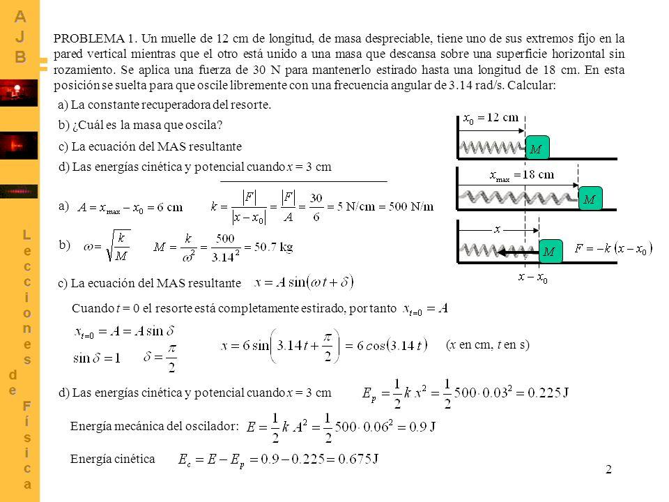 3 Calcular: a) La frecuencia, el periodo, la longitud de la onda y la velocidad de propagación.