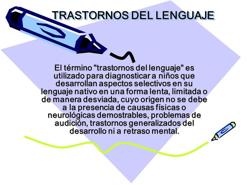 TIPOS DE TRASTORNOS Disartrias Dislalias Disfemia Afasia Disfasia Disglosia