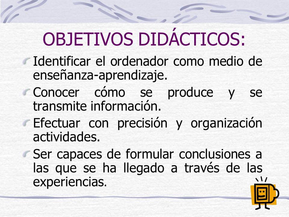 BIBLIOGRAFÍA: ALÀS, Anselm; BARTOLOMÉ, Antonio R.; BAUTISTA VIZCAÍNO, Fernando y otros (2002): Las tecnologías de la información y de la comunicación en la escuela.