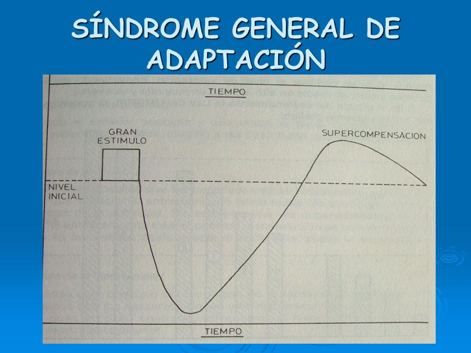 SÍNDROME GENERAL DE ADAPTACIÓN