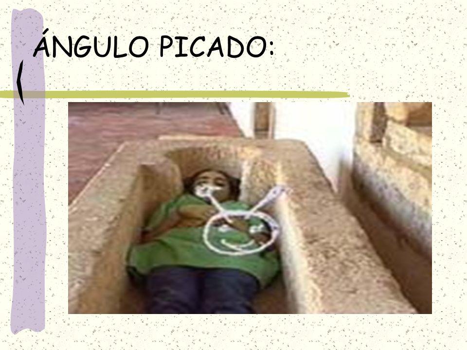ÁNGULO PICADO: