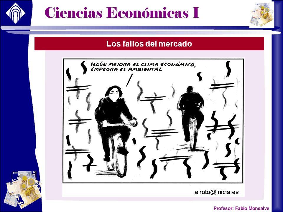 Los fallos del mercado
