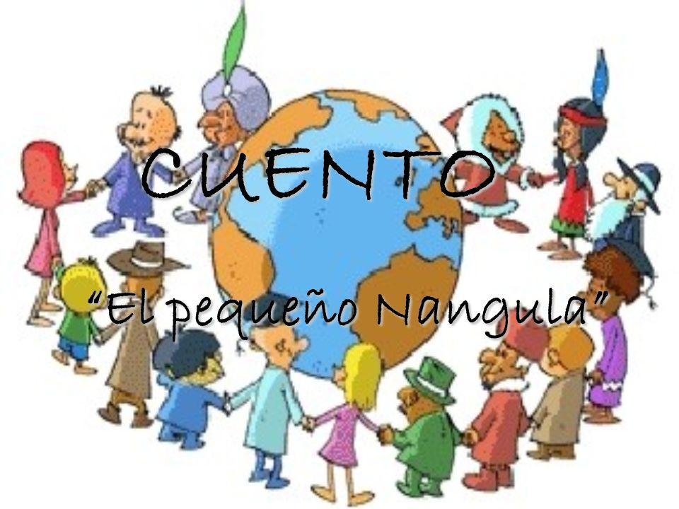 Nangula era un niño de África que se había venido a vivir a España, junto a sus papás.