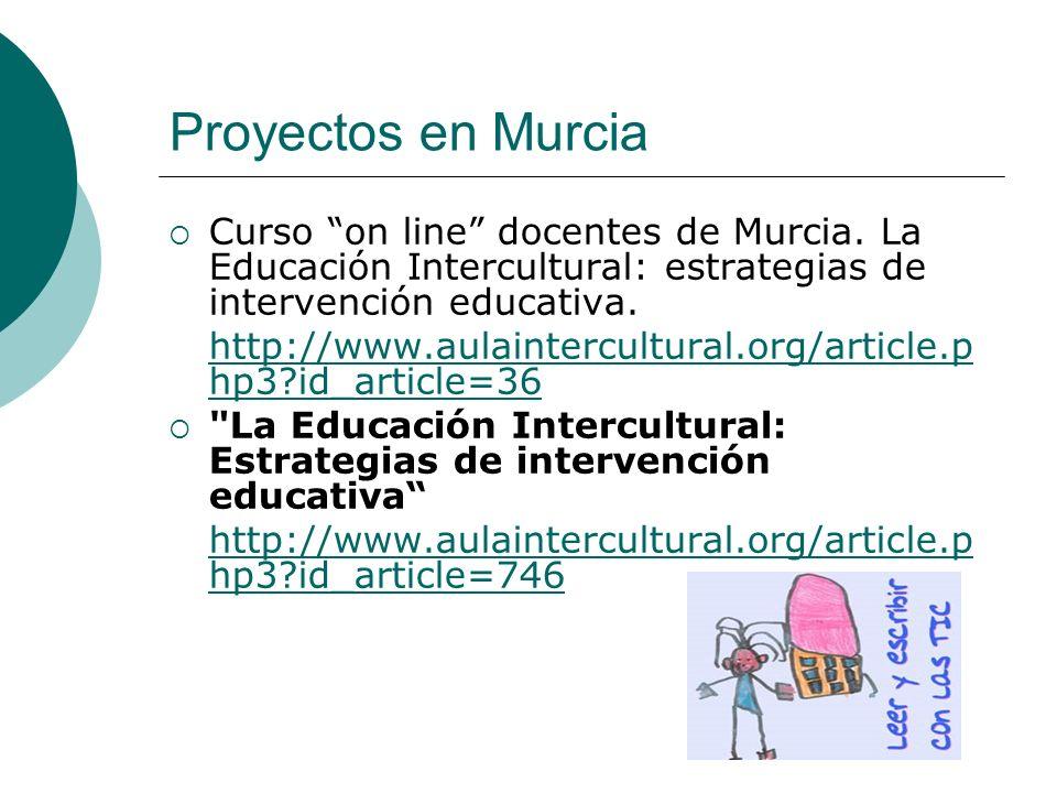 Proyectos en Murcia Curso on line docentes de Murcia.