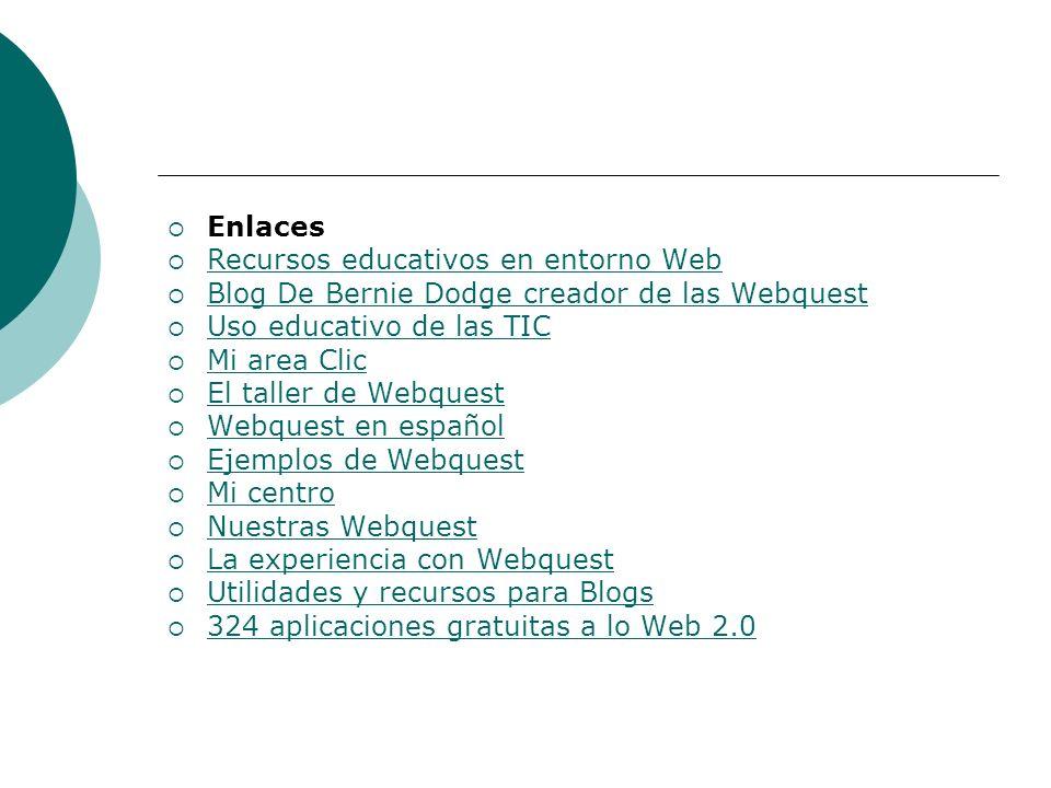 NOTICIAS Congreso interesante con ingredientes claves: Blog+SL = Web 2.0 Congreso interesante con ingredientes claves: Blog+SL = Web 2.0 Carta de un maestro a los políticos Repositorios de webquests España se desprende de sus científicos España se desprende de sus científicos ¿Equipos directivos profesionales?