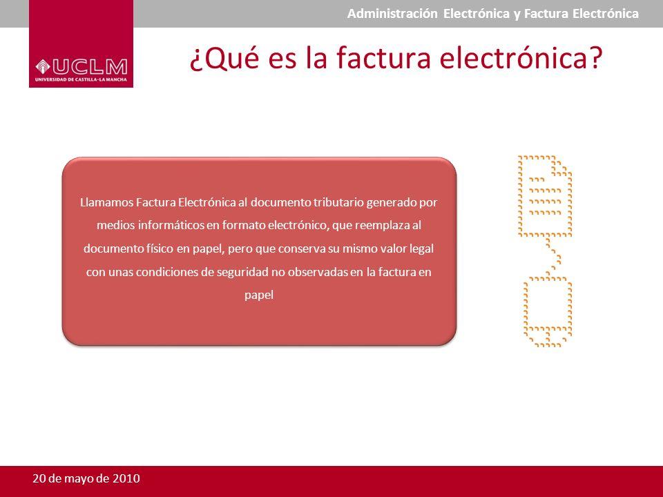¿Qué es la factura electrónica? Llamamos Factura Electrónica al documento tributario generado por medios informáticos en formato electrónico, que reem