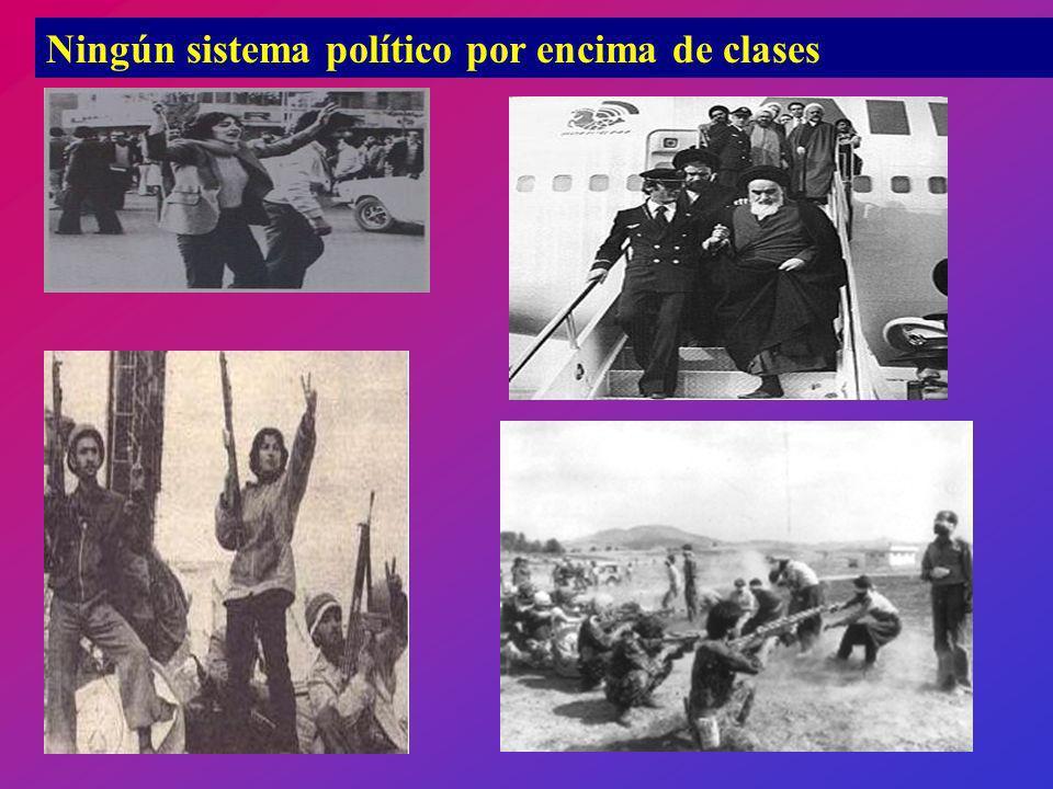 Ningún sistema político por encima de clases