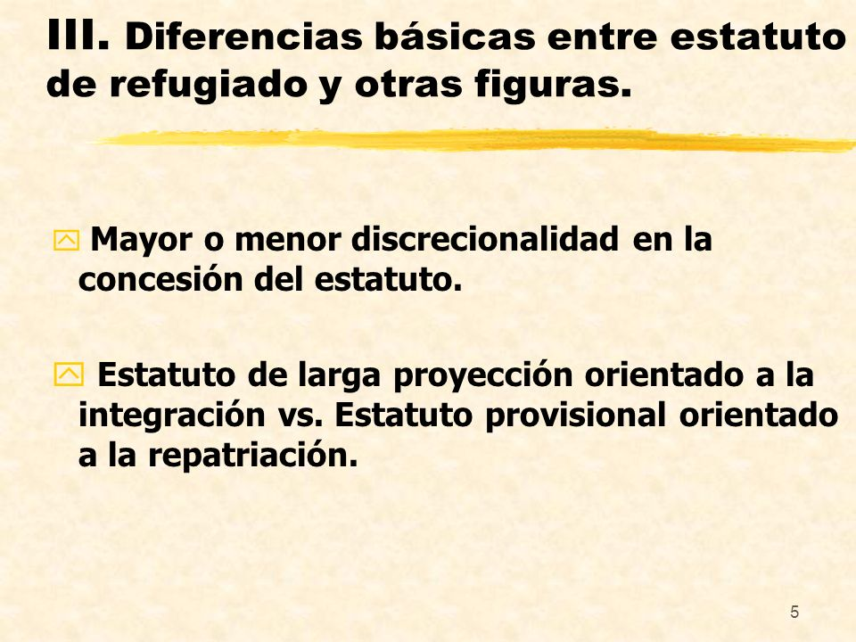 6 IV.Garantía básica en materia de asilo (non refoulement) y posibles quiebras.