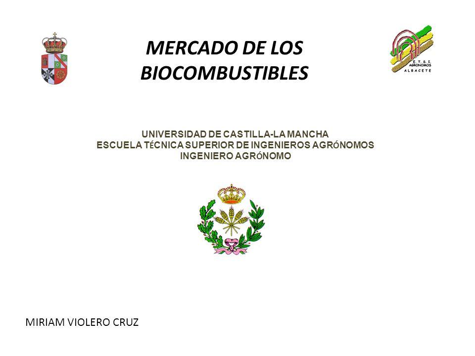 BIOCOMBUSTIBLES 3.PRODUCCIÓN 3.6.