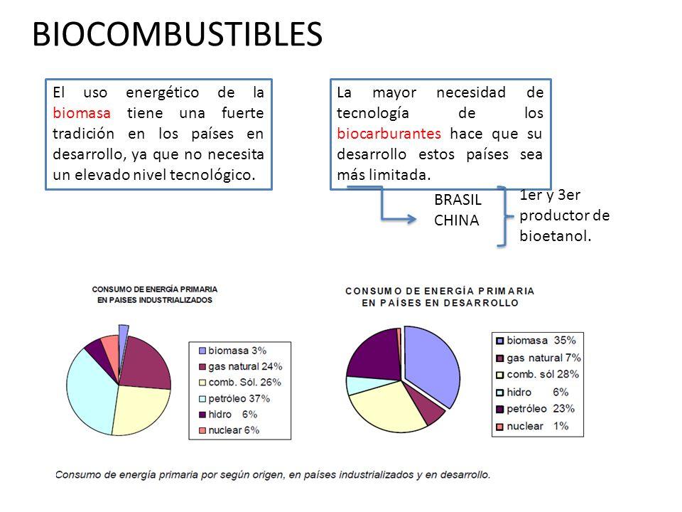 BIOCOMBUSTIBLES 3.PRODUCCIÓN 3.1.