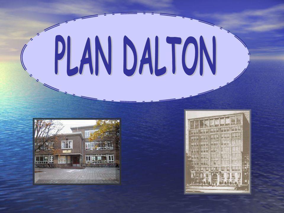 Como respuesta a esta preocupación, y por el intento de alcanzar un equilibrio entre los talentos de cada niño y sus necesidades creó un modelo educativo denominado Plan Dalton.