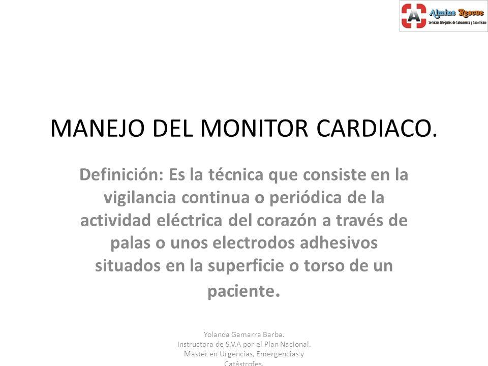 -Poner los electrodos precordiales (de pegatina o pera): * V1: En el 4º espacio intercostal en el lado derecho del esternon.